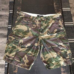 Vans Camo Cargo Shorts